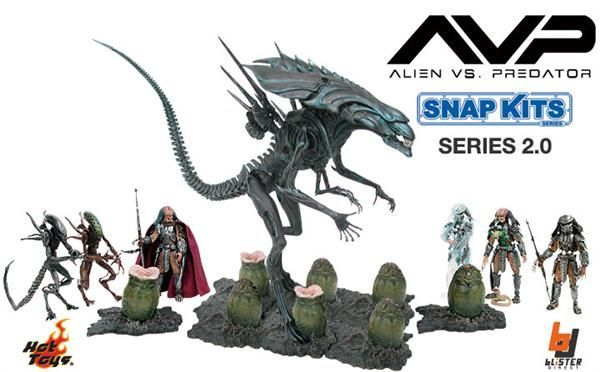 Alien vs Predator Snap Kit - Alien Egg (Open)