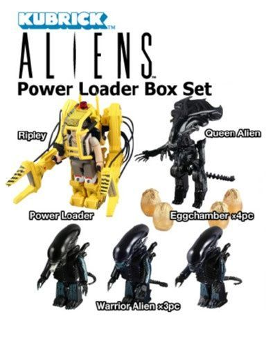 Aliens power loader Kubrick set