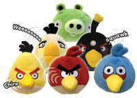 "Angry Birds - 4"" Mini plush with sound"