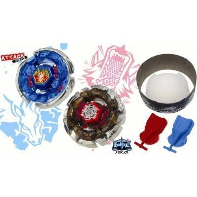 Metal Fight Beyblade - Hybrid wheel battle set