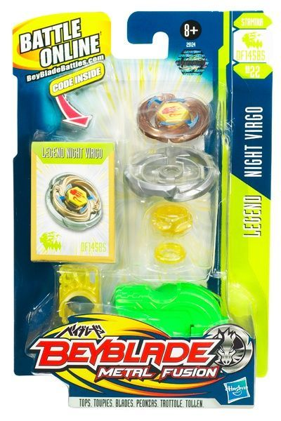 Beyblade Metal Fusion - Legend Night Virgo