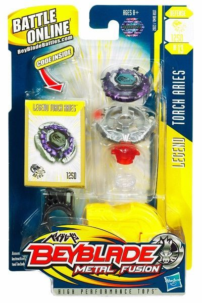 Beyblade Metal Fusion - Legend Torch Aries