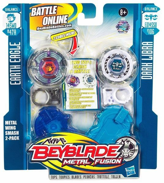 Beyblade Metal Fusion Battle Faceoff - Metal Wing Smash