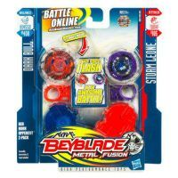 Beyblade Metal Fusion Battle Faceoff - Red Horn Uppercut