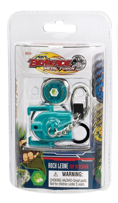 Beyblade Metal Fusion Key chain - Rock Leone