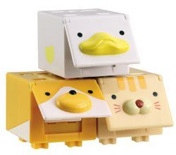 CUBees - 3 pack ( Cat, Dog & Duck)