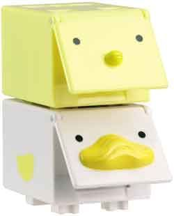 CUBees - 2 pack (Chick & Duck)