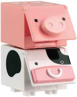 CUBees - 2 pack (Cow & Pig)