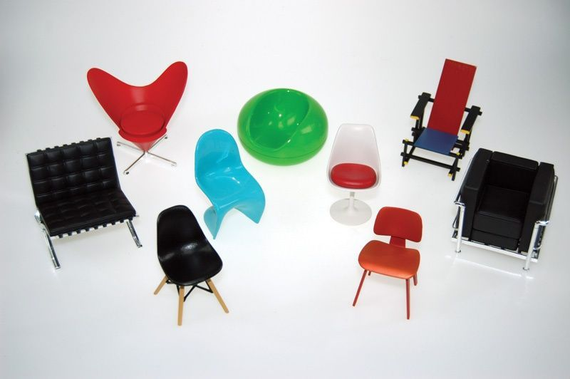 Designer chair collection - VOL 1