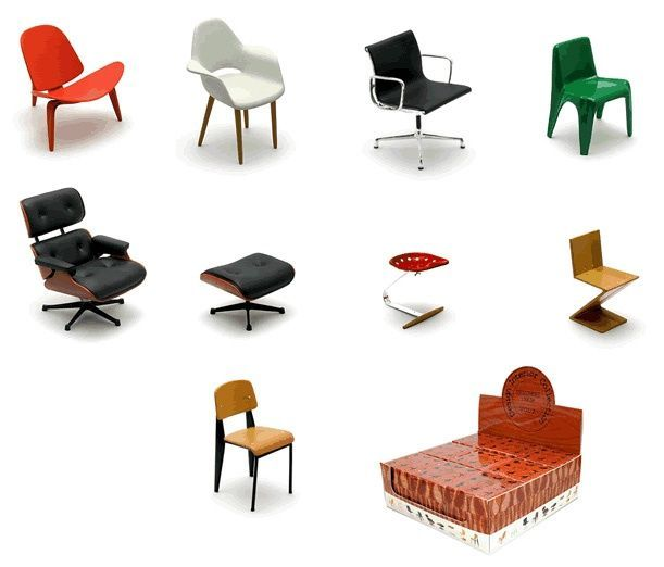 Designer chair collection - VOL 2