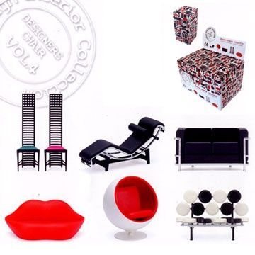 Designer chair collection - VOL 4