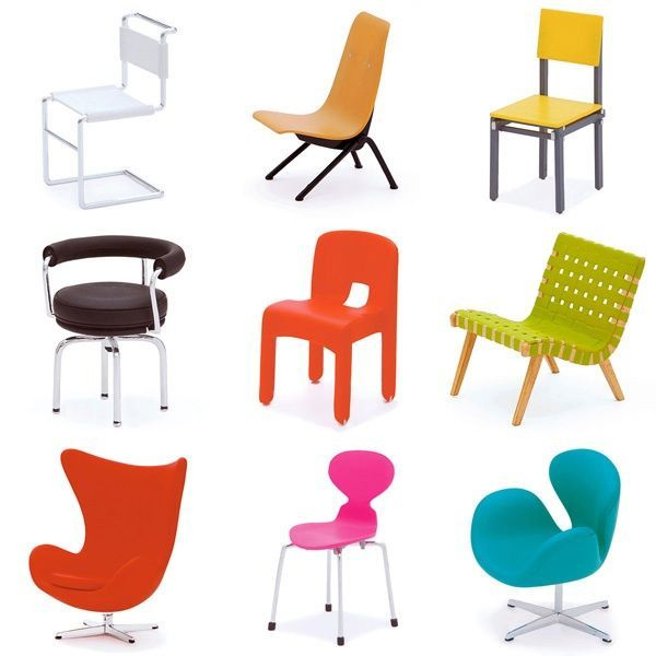 Designer chair collection - VOL 5