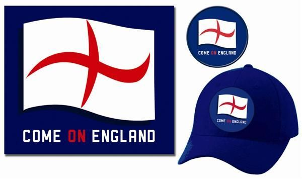 Flash the flag England - Supporters pack