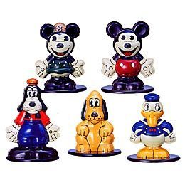 Capsule toys - Disney characters Tin set