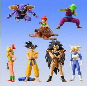 Capsule toys - Dragon Ball Z figures set 3