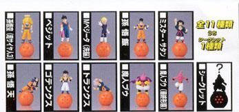 Capsule toys - Dragon Ball Z figures Kharap vol.2