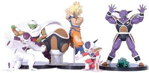 Capsule toys - Dragon Ball Z posing figures part 2
