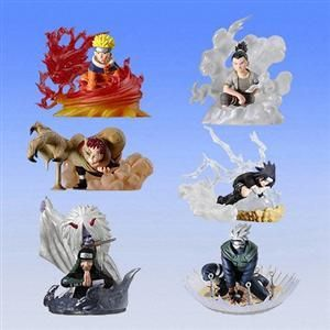 Capsule toys - Naruto collection set 3