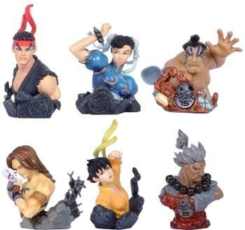 Capsule toys - Street fighter Heroes Round 1