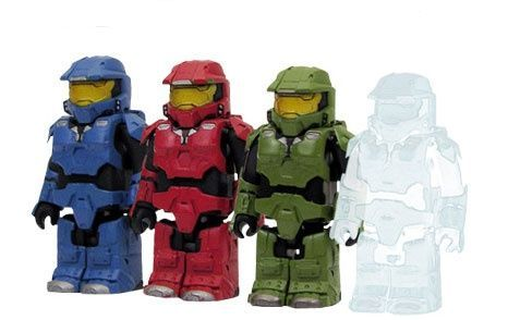 Halo 3 Kubricks - Limited edition