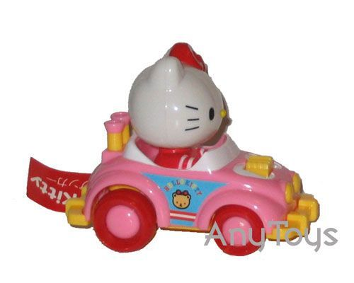 Hello kitty wind up car - Pink/Yellow