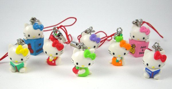Hello Kitty Charms - 6 pack
