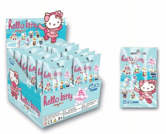 Hello Kitty Winter Danglers - pack of 3