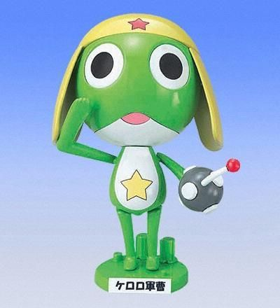 Keroro Gunso Plamo collection - keroro Gunso