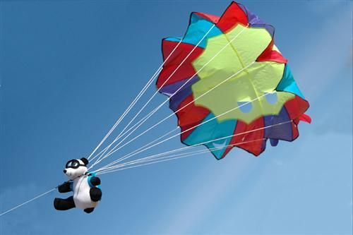 Air Bear Parachute Kite