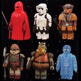 Kubrick Star wars series 7 - pack of 6