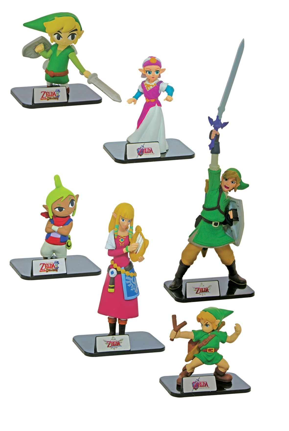 Zelda Figure Collection buildable figures – pack of 2