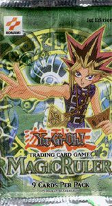 Yugioh Magic Ruler Booster pack