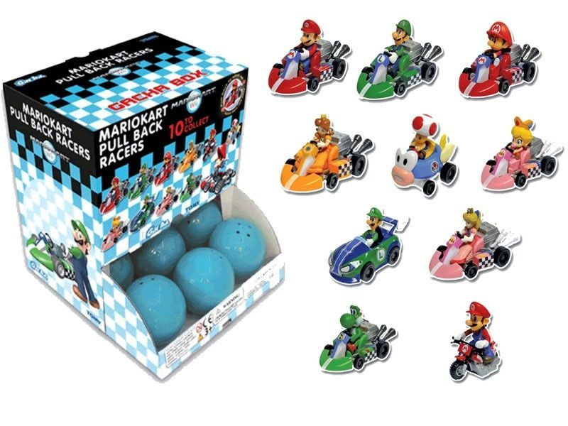 Mario kart Pull back racers  ver 4 - Pack of 2