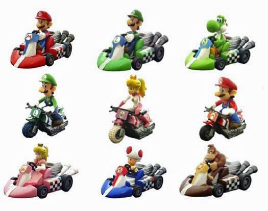 Mario kart Pull back racers 2 - Pack of 2