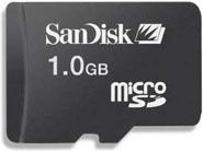 1 GB Sandisk Micro SD