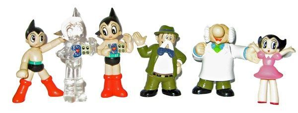 Might Atom real figure collection - Set of 6