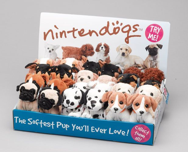 Nintendogs Beanies with sound