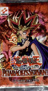 Yugioh Pharoah\'s Servant Booster pack