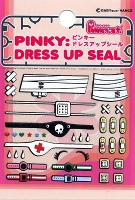 Pinky Dress up Seal - Set 2