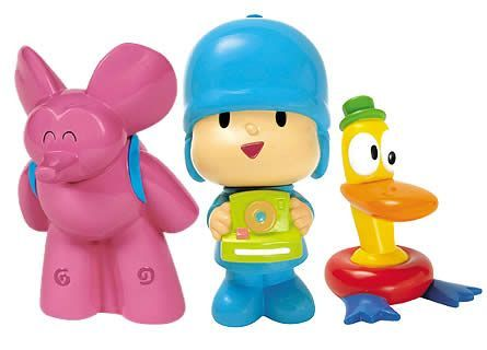 Pocoyo 3-in 1 Bath Set