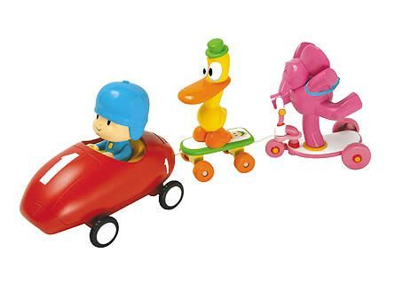 Pocoyo vehicle Set