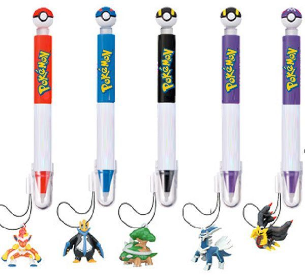 Pokemon DS stylus & dangler - pack of 2