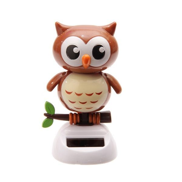 Solar Powered Dancing Owl