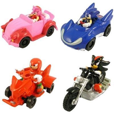 Sonic The Hedgehog  Pull back racers - Pack of 2
