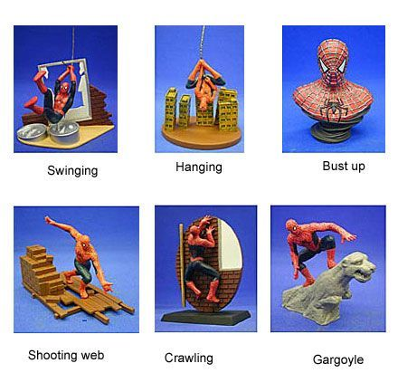Spiderman 2 mini figure