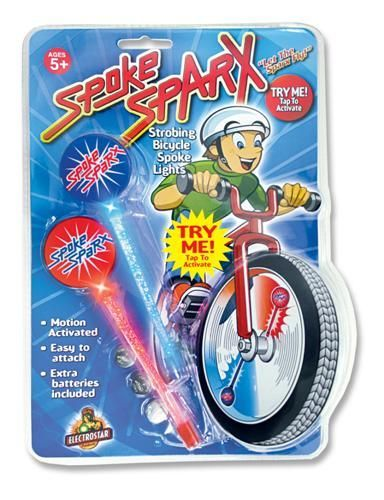 Spoke Sparx - Blue/Red LED