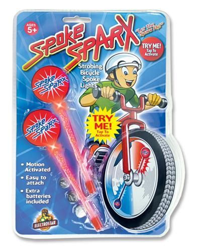 Spoke Sparx - Red LED