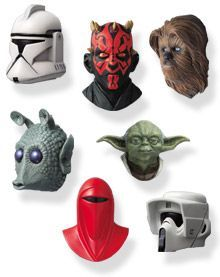 Star Wars Real mask magnet collection 2