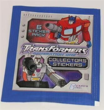 Sticker pack - Transformers