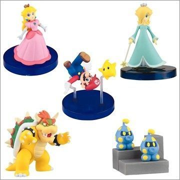 Super Mario Galaxy desk top figures – pack of 3